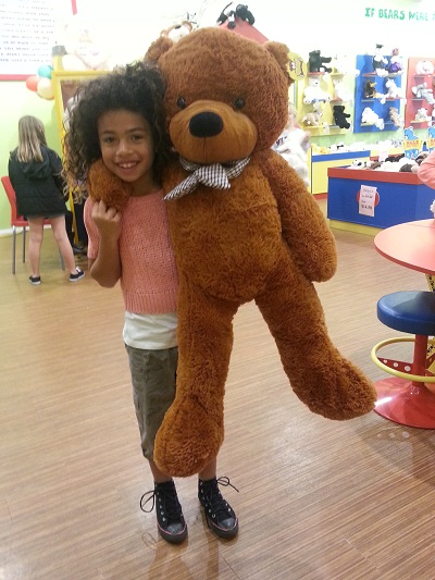 Giant Teddy Bear 1.2m --dark brown