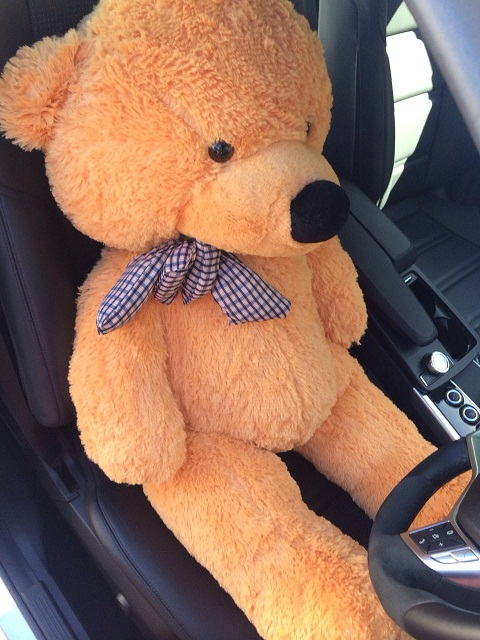 Giant teddy bear 1.2m --light brown