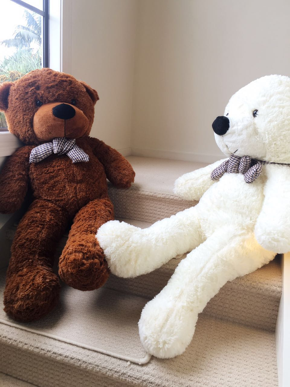 Giant teddy bear 1.2m --white