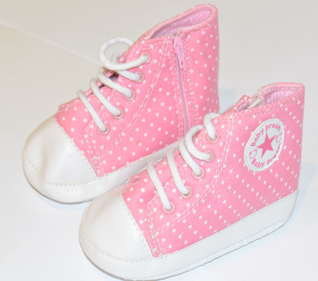 Canvas Shoes Pink