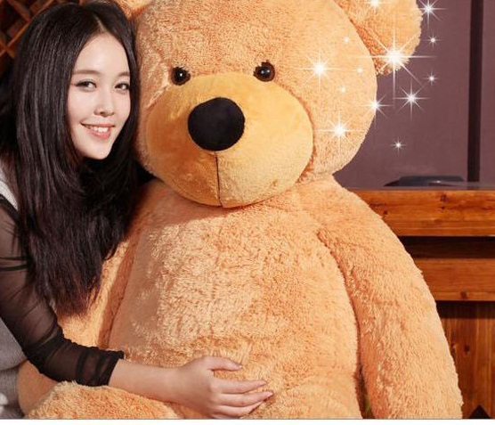Giant Teddy Bear 1.9m--light brown