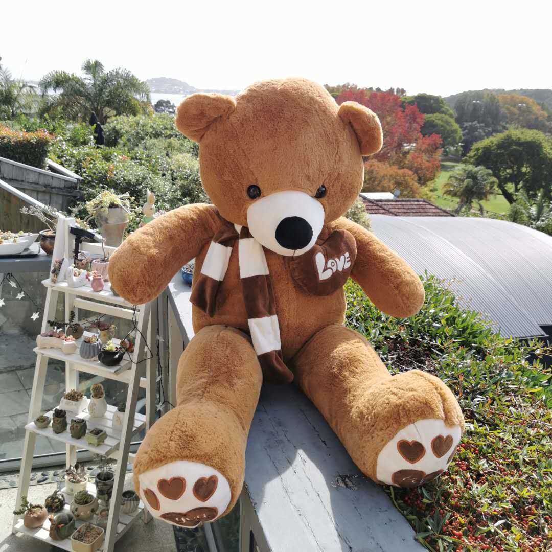 Chocolate bear 125cms