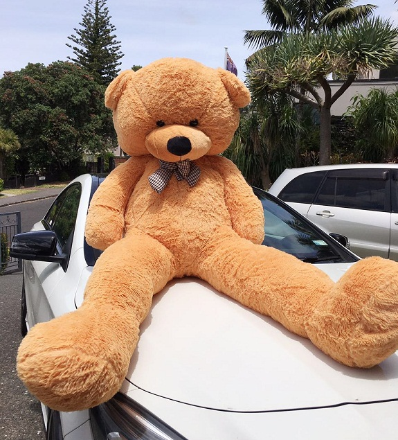 Giant Teddy Bear 1.7m -- Light Brown