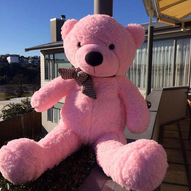 Giant teddy bear 1.2m- -pink