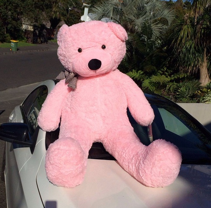 Giant Teddy Bear 1.5M- pink