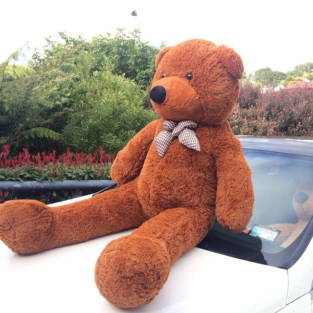 Giant Teddy Bear 1.5m -- Dark Brown