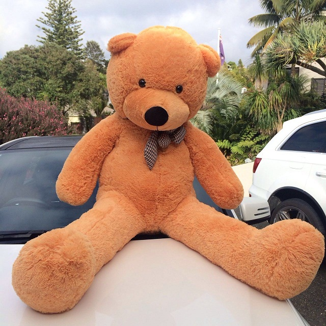 Giant teddy bear 1.5m --light brown