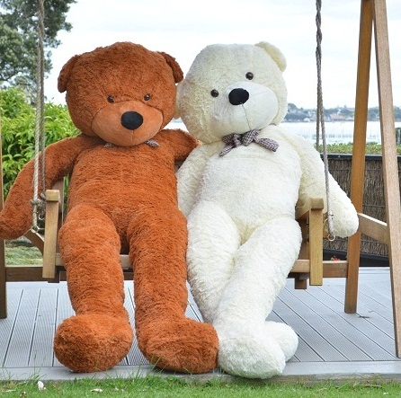 Giant teddy bear 1.9m --Dark brown