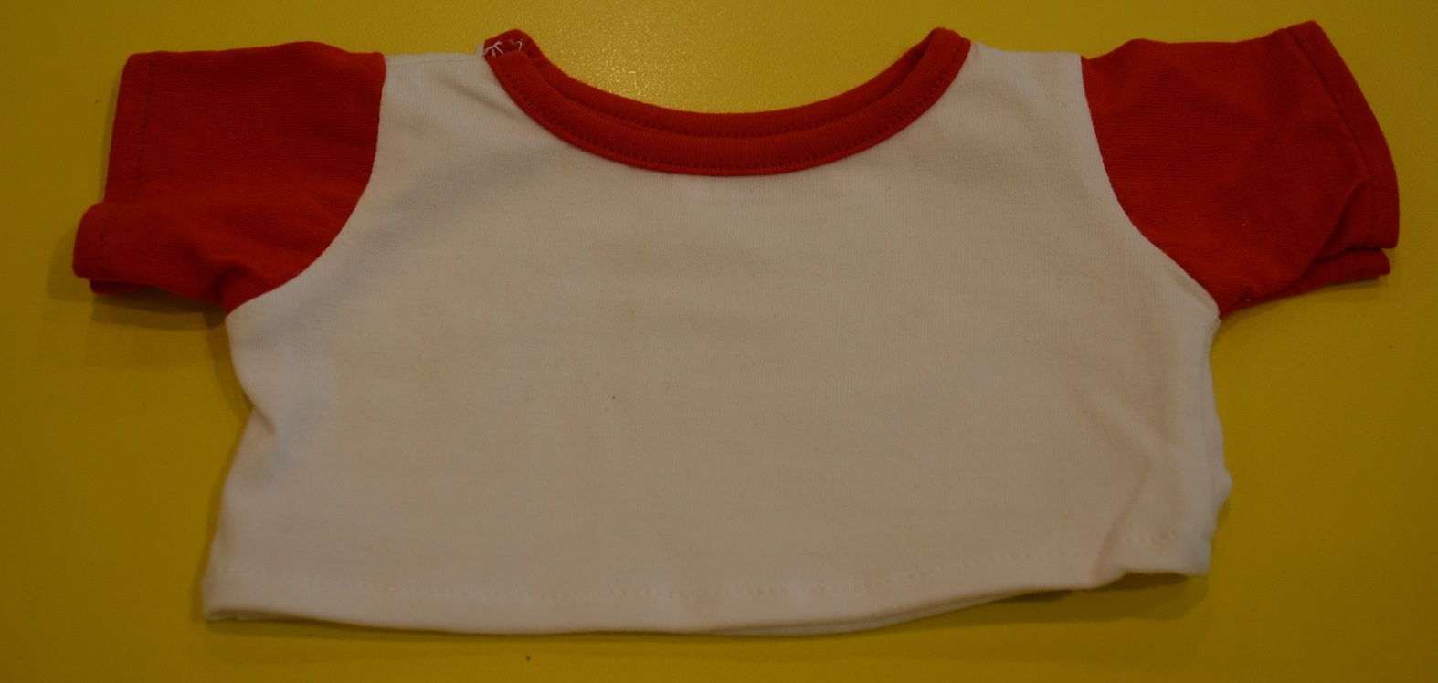 White T Red