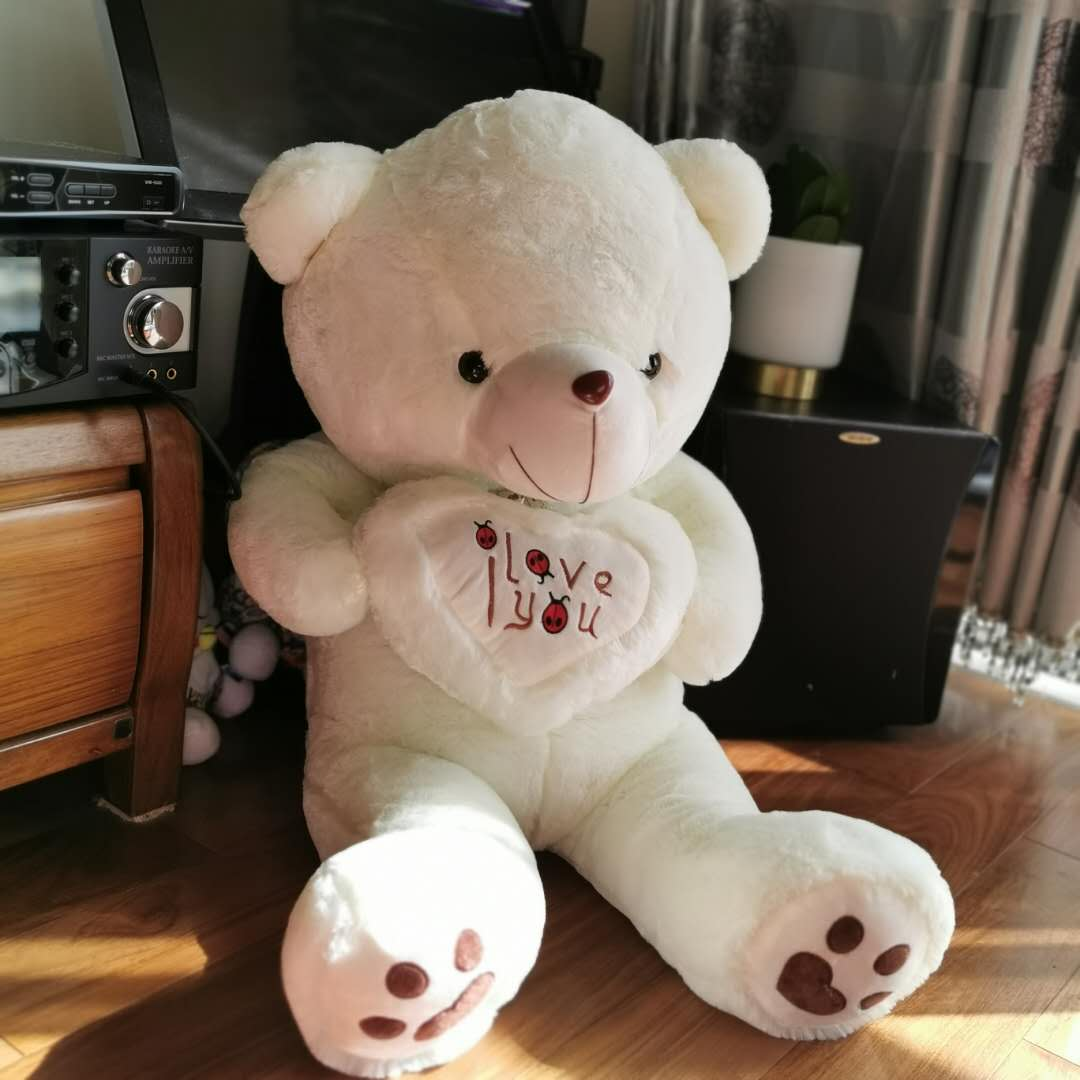 I LOVE YOU HEART TEDDY 1.1M
