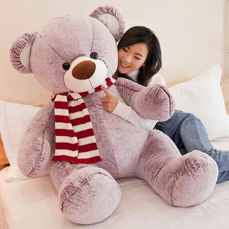 Toby bear 135cms purple